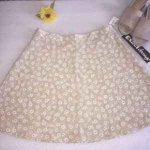 Exact Change taupe A Line skirt